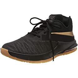 Nike Air MAX Infuriate III Low, Zapatillas de Baloncesto para Hombre, Multicolor (Black/Metallic Copper/Thunder Grey 009), 46 EU