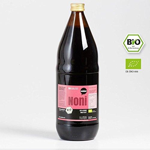 Wohltuer Noni Saft Bio 100% reiner Direktsaft (DE-ÖKO-006)