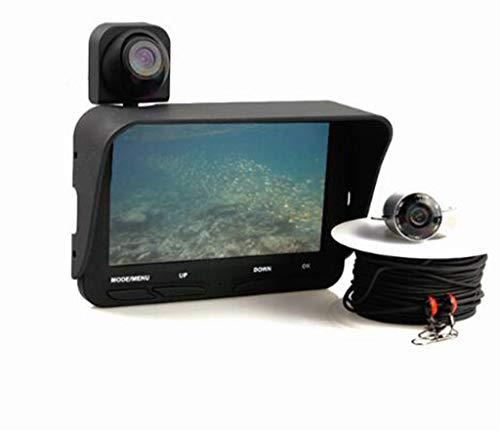 Maple Leaf Unterwasserfischerkamera-Beobachtungssystem Ibobber - Erfasst Live-Unterwasserfischen mit 4,3-Zoll-Farbbildschirm und Dual-Bildschirm