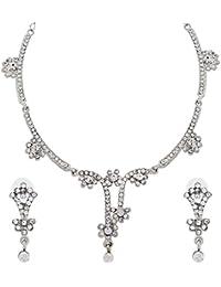 Alloy White Necklace Set