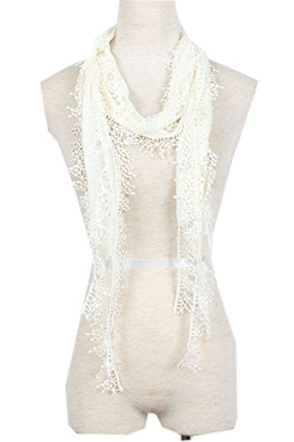 Seashell Cashmere (Dilize Damen Schal Gr. One size, Elfenbein - Off White (Seashell))