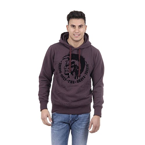 Diesel -  Felpa  - Uomo Purple Medium