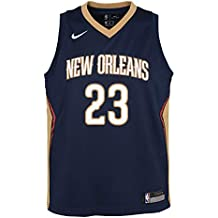 Nike NBA New Orleans Pelicans Anthony Davis 23 2017 2018 Icon Edition Jersey Official, Camiseta