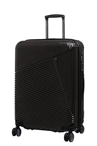 it luggage Metamorphic 8 Wheel Hard Shell Single Expander Suitcase Medium with TSA lock Valigia, 69 cm, 100 liters, Marrone (Choco Aubergine)