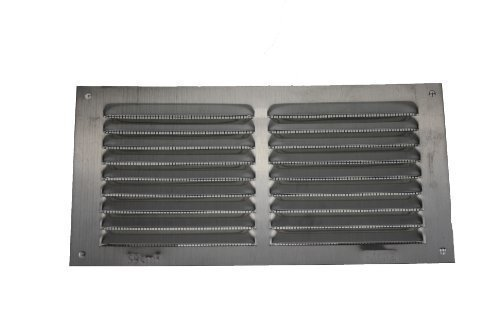 AMIG-GITTER 3-100x 200x 0,6Aluminium silber Karabiner Display -