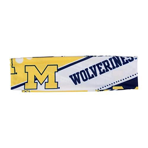 Littlearth NCAA Michigan Wolverines Stretch Headband -