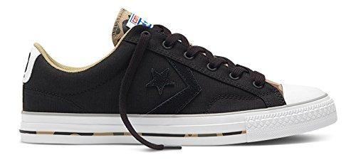Converse Star Player C151304, Baskets Basses Mixte Adulte Noir (Black/Sandy/Dolphin)