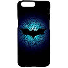 One Plus 5 Printed Hard Back Cover - The Logo Of Batman (By Fancy Interio).