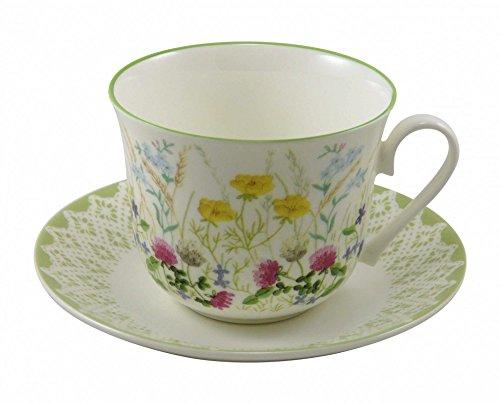 Roy kirkham jumbo mug meadow motif fleurs 450 ml
