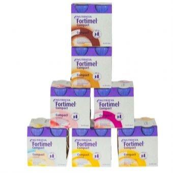 Preisvergleich Produktbild Fortimel Compact Mischkarton 8X4X125 ml