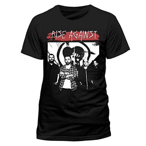 Rise Against Herren Band T-Shirt - 1984 Schwarz