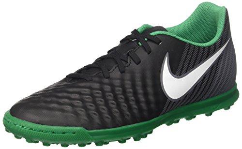 Nike Magistax Ola II TF, Chaussures de Football Homme Noir (Black/White-Dark Grey-Stadium Green)