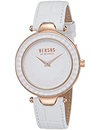 Versus by Versace Analog White Dial Women's Watch - SQ111 0015