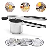 Best Potato Ricers - Potato Ricer Fruit and Vegetable Masher with 3 Review