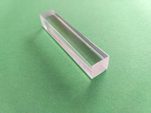 1 Meter 3 x 3 mm - Toleranz +//- 0,3 mm Acrylglas XT Vierkantstab klar L/änge /Ø w/ählbar in 1000 mm