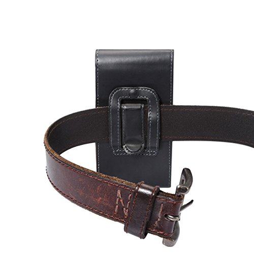 Verticale Étui de ceinture pour Apple iPhone 8   iPhone 7   iPhone 6S 6 4.7  inch cuir avec fermeture magnétique et clip de ceinture Passant ceinture for  ... 24b583844a2