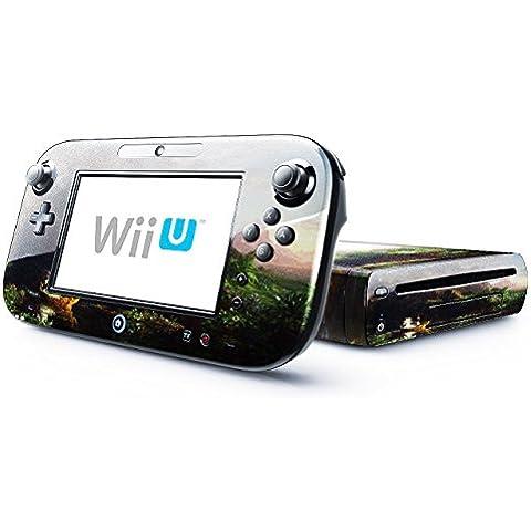 Colección 85, personalizado Console Nintendo DS Lite, 3ds, 3DS XL, Wii U Wrap Faceplates Decal Vinyl piel adhesivo pegatina skin protector Thomas Cole - The Voyage Of Life-Childhood Nintendo Wii U Skin.