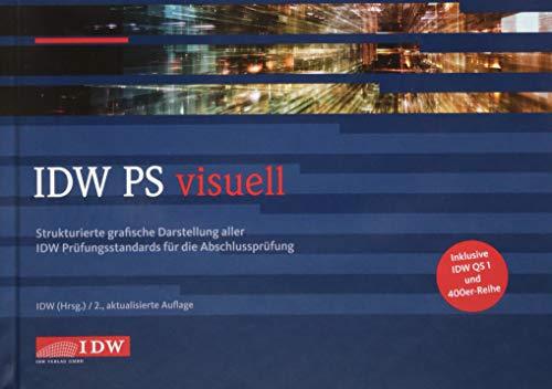 IDW PS visuell: Strukturierte grafische Darstellung aller IDW Prüfungsstandards für die Abschlussprüfung. Inkl. IDW QS 1und 400er-Reihe Strukturierte Hardcover