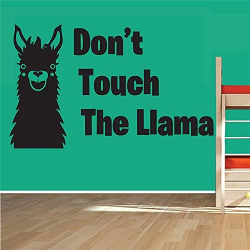 supmsds L Aufkleber Junge Mädchen Tier Humor Homr Decor Vinyl Wandaufkleber Für Kinderzimmer Aufkleber Wandbild Spielzimmer Zitat Kunst Wohnkultur 58 x 35 cm -