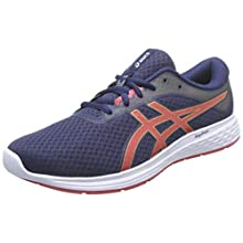 Asics PATRIOT 11, Men's Running Shoes, Peacoat/Classic Red, 9.5 UK (44.5 EU)