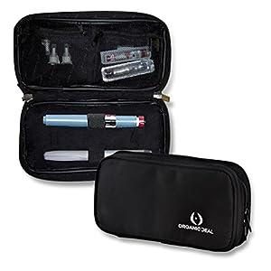 INSULIN KÜHLER bei gedämmten paneele – Insulin-Kühltasche für Diabetiker hält Medikamente kühl/Isolierte Epipen Case/Premium Insulintasche/Umfasst 2 Eispackungen (Stifte & Fläschchen nicht inkl)