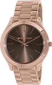 Michael Kors Damen-Armbanduhr Analog Quarz Edelstahl beschichtet MK3181