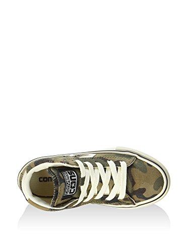 Converse - Pro Leather Vulc Mid Canvas Pr, Sneaker alte Unisex – Bambini Mimetico