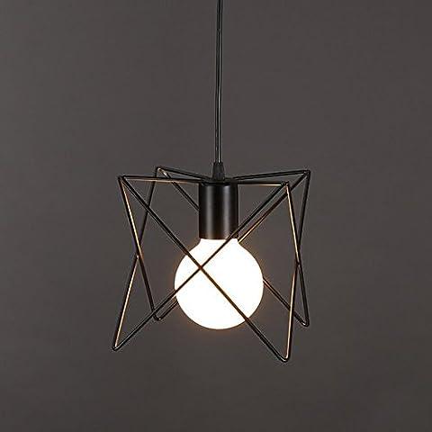 Retro Vintage Pendant Lighting Loft Bar Ceiling Light Cage for