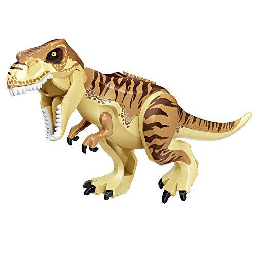 EisEyen Dinosaurier Spielzeug DIY Puzzle Dinosaurier Spielzeug Dino Bausteine Spiele Sets für Jungen Mädchen Kinder Velociraptor Allosaurus Tyrannosaurus