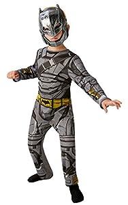Rubies Batman V Superman Dawn of Justice ~ Armoured Batman Classic - Kids Costume 7 - 8 Years