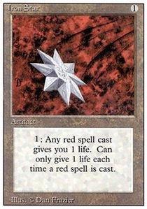 Magic: the Gathering - Iron Star - Stella di Ferro - 3rd Edition/Revised -