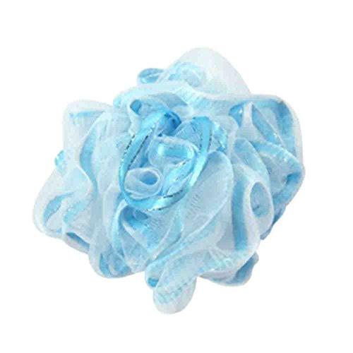 Ensemble de 2 boule pour le bain / boule de bain lush / serviette de bain, Bleu