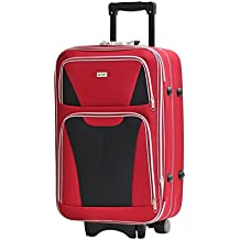 Valise Taille Moyenne Alistair Bridge 65cm - Toile Nylon Ultra Léger - 3 Roues