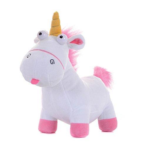Minions Einhorn Plüschfigur - Neu 2017 - Das Fluffy Unicorn zum Neuen Minions Kinofilm Ich Einfach Unverbesserlich (60cm stehend)