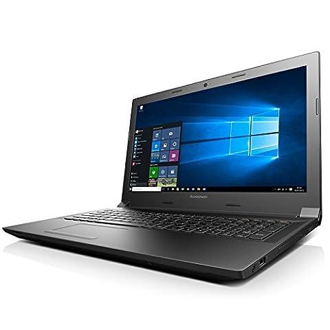 Lenovo 300-15IBR Notebook (15,6 Zoll) - Intel Quad Core - 4 x 2.58 GHz - 4 GB RAM - 500 GB Festplatte - HDMI - Windows 10 Pro - Intel HD Grafik - DVD Laufwerk - (Festplatten Günstig)