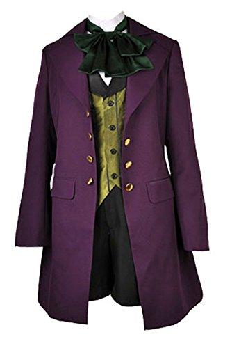 RoleplayShop Black Butler II Alois Trancy Cosplay Kostüm Gr. Large, ()