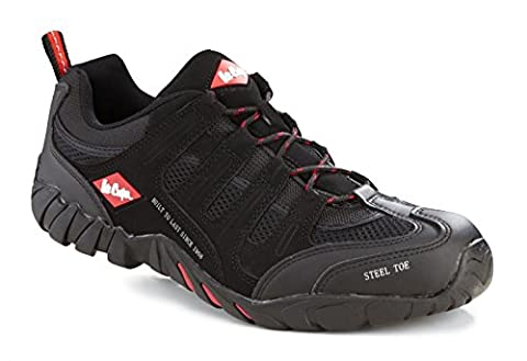 Lee Cooper Mens Safety Lightweight Trainer Steel Toe Cap & Sole Penetration Plate Work Slip & Oil Resistant Shoe Branded Unisex Footwear Protection Midsole Workwear Work Walking Suitable For All Uses Stylish Attractive & Fashionable Design Comfortable Lea