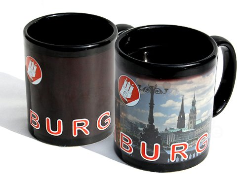 Verwandlungstasse 'Hamburger Innenstadt' Magic Mug