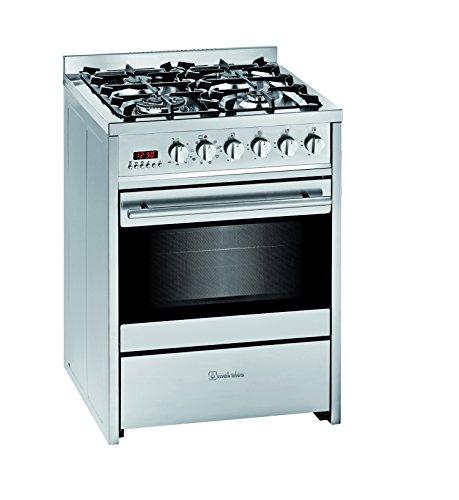Meireles cocina convencional e610x, 4 fuegos,nat
