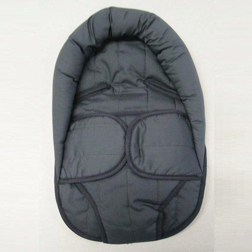 Bettacare - Materassino avvolgente con chiusure a velcro e sostegno imbottito per la testa, adatto (passeggini e seggiolini)