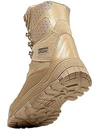 Botas De Hombre Botas De Aire Libre Martin Botas Tácticas Desert High Ayuda Zapatos con Cordones