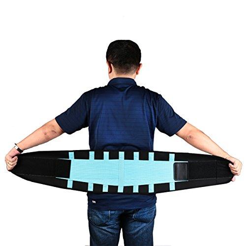 Beschoi supporto schiena/lombare Brace/vita Trimmer Cintura/valgo Advanced traspirante in vita regolabile cintura di sostegno per le donne uomini prevenzione delle lesioni e dolore/snellisce e vita, M-100*23cm