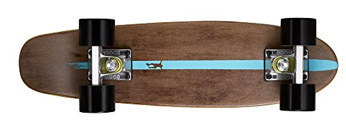 Ridge Skateboards Maple Mini Cruiser- NR2 Skateboard, Nero