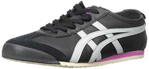 Onitsuka Tiger by Asics Mexico 66 Synthétique Baskets Black-Soft Grey