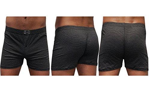 10 Stück Herren-Boxershort Unterhose Δ Unterhosen-Boxershorts-Herren-Unterwäsche-Baumwolle-100-% Δ Retroboxershorts mit Eingriff Δ Spar-Pack von SGS 10.Stück