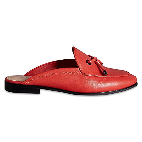 Marks & Spencer AUTOGRAPH T020232 Leather Block Heel Knot Mule Shoes with...