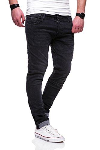 MT Styles Jeans Slim Fit RJ-2001 [Grau, W32/L32]