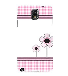 Flower Pattern 3D Hard Polycarbonate Designer Back Case Cover for Samsung Galaxy Note 3 N9000 :: Samsung Galaxy Note 3 N9002 :: Samsung Galaxy Note 3 N9005 LTE