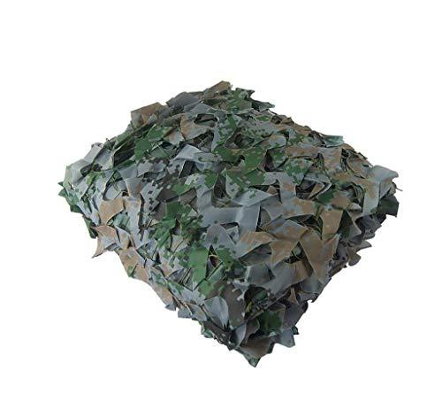 Qjifangzyp Terrassenmarkise Digital Camouflage Net Oxford Tuch für Halloween Outdoor Wald Camping Schutz Schießen versteckt, 2m * 3m, 6m * 8m Camouflage net Sonnenschutznetz (größe : 2m*3m)