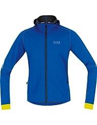 Gore Running Wear Herren Essential Windstopper Soft Shell Hoody Shirt